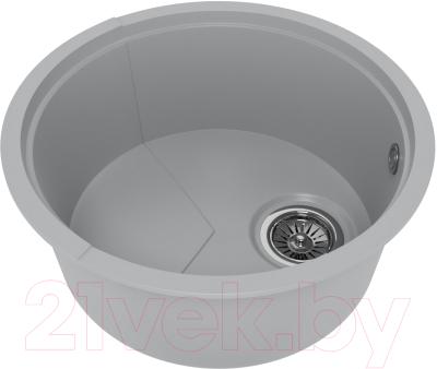 Мойка кухонная KitKraken Duo Spring C-510 (серый)
