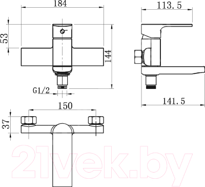 Смеситель Novaservis 41022/1.0