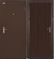 Входная дверь el'Porta Ультра Лайт Антик медь/Венге (95x205, правая) -
