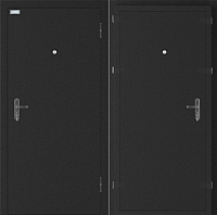 Входная дверь el'Porta Ультра Плюс Антик серебристый/Антик серебристый (95x205, правая) -