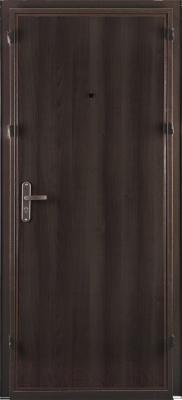 Входная дверь el'Porta Ультра Лайт Антик медь/Венге (95x205, левая)