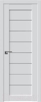 Дверь межкомнатная ProfilDoors Модерн 71U 80x200 (аляска/стекло графит)