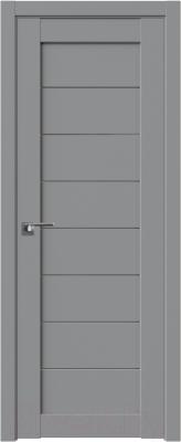 Дверь межкомнатная ProfilDoors Модерн 71U 90x200 (манхэттэн/стекло графит)