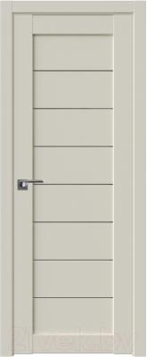 Дверь межкомнатная ProfilDoors Модерн 71U 90x200 (магнолия сатинат/стекло графит)
