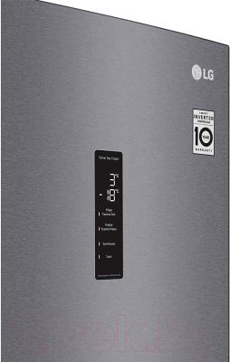 Холодильник с морозильником LG DoorCоoling+ GA-B509MLSL