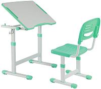 Парта+стул FunDesk Piccolino II (зеленый) -