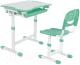 Парта+стул FunDesk Piccolino (зеленый) -