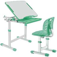 Парта+стул FunDesk Piccolino III (зеленый) -