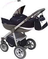 Детская универсальная коляска Expander Mondo Grey 3 в 1 (09/navy/white) -