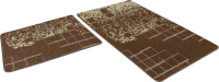 Набор ковриков Shahintex Vintage SHV001 60x100/60x50 (шоколадный) -