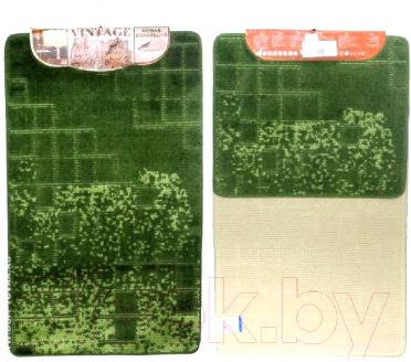 Набор ковриков Shahintex Vintage SHV001 60x100/60x50 (зеленый)