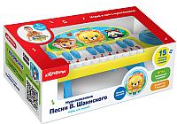 Музыкальная игрушка Азбукварик Мультипианино. Песни В.Шаинского / AZ-2175 -
