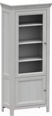 Шкаф с витриной WellMaker Норманн ШП2-80 ПП (дижон)