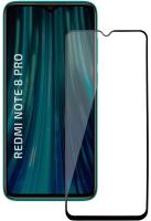 Защитное стекло для телефона Volare Rosso Fullscreen Full Glue для Redmi Note 8 Pro (черный) -
