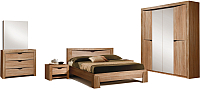 Комплект мебели для спальни ФорестДекоГрупп Герда-4 (дуб крафт) -