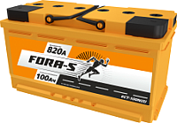 Автомобильный аккумулятор Fora-S R+ (100 А/ч) -