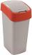 Мусорное ведро Curver Flip Bin 50L / 195024 (красный) -