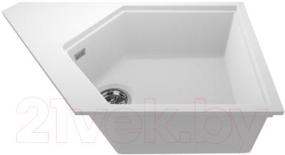 Мойка кухонная KitKraken River K-775 (белый)