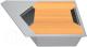 Мойка кухонная KitKraken River K-775 + разделочная доска (серый) -