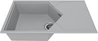 Мойка кухонная KitKraken Sea K-850 (серый) -