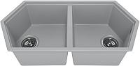 Мойка кухонная KitKraken Gulf K-850.2B (серый) -