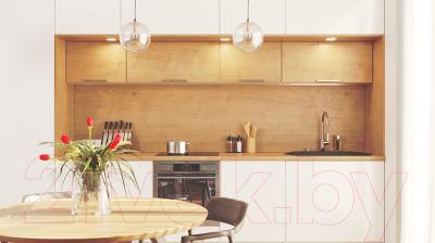 Мойка кухонная KitKraken Gulf K-850.2B + две разделочные доски (графит)