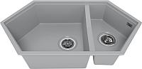 Мойка кухонная KitKraken Creek Y-900M (серый) -