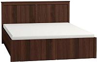 Двуспальная кровать Глазов Sherlock 42.2 с ПМ 160x200 (орех шоколадный) -
