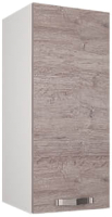 Шкаф навесной для кухни Anrex Alesia 1D/30-F1 (серый/дуб анкона) -