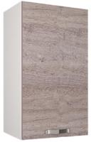 Шкаф навесной для кухни Anrex Alesia 1D/40-F1 (серый/дуб анкона) -