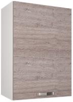 Шкаф навесной для кухни Anrex Alesia 1D/50-F1 (серый/дуб анкона) -