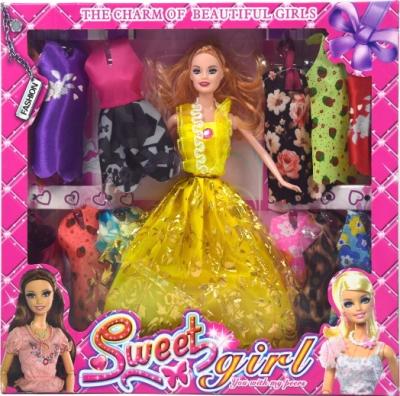 Кукла с аксессуарами Ausini YX003B