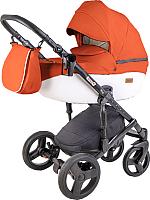 Детская универсальная коляска Ray Corsa Ecco 2 в 1 (24/оранжевый/белый) -