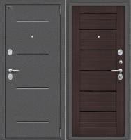 Входная дверь el'Porta Porta S 2 104.П22 Антик серебристый/Wenge Veralinga (88x205, правая) -