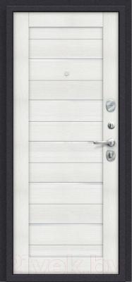 Входная дверь el'Porta Porta S 4.П22 Almon 28/Bianco Veralinga (88x205, правая)