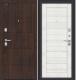 Входная дверь el'Porta Porta S 4.П22 Almon 28/Bianco Veralinga (88x205, правая) -