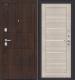 Входная дверь el'Porta Porta S 4.П22 Almon 28/Cappuccino Veralinga (88x205, правая) -