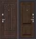 Входная дверь el'Porta Porta S 55.К12 Almon 28/Dark Oak (88x205, правая) -