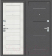 Входная дверь el'Porta Porta S 2 104.П22 Антик серебристый/Bianco Veralinga (88x205, левая) -
