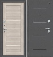 Входная дверь el'Porta Porta S-2 104.П22 Антик серебристый/Cappuccino Veralinga (88x205, левая) -