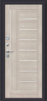 Входная дверь el'Porta Porta S 9.П29 Almon 28/Cappuccino Veralinga (88x205, левая)