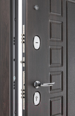Входная дверь el'Porta Porta S 51.П61 Almon 28/Bianco Veralinga (88x205, правая)