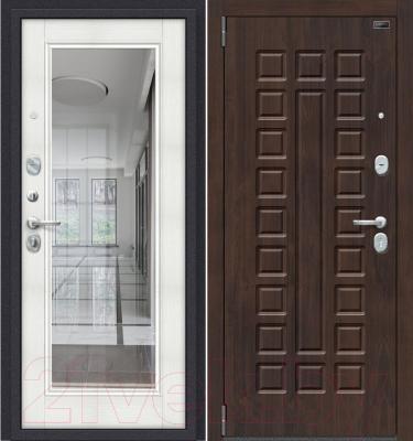 Входная дверь el'Porta Porta S 51.П61 Almon 28/Bianco Veralinga (88x205, левая)