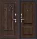 Входная дверь el'Porta Porta S 55.К12 Almon 28/Dark Oak (88x205, левая) -