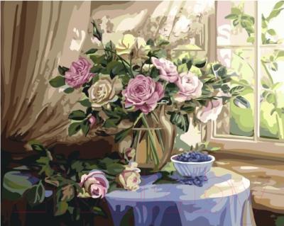 Картина по номерам Picasso Букет роз у окна (PC4050524)