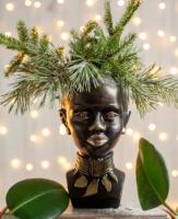 Кашпо Нашы майстры Африканка 1139 (декорированное) -