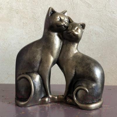 Статуэтка Нашы майстры Влюбленные коты 3036 (декорированная)