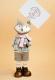 Статуэтка Нашы майстры Лис 3074 (декорированная) -