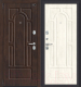 Входная дверь el'Porta Porta S 55.55 Almon 28/Nordic Oak (98x205, левая) -