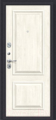 Входная дверь el'Porta Porta S 55.К12 Almon 28/Nordic Oak (98x205, левая)
